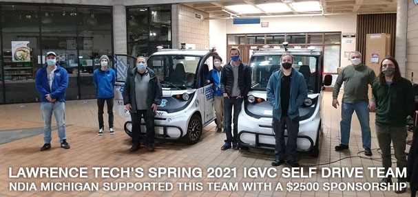 Lawrence Tech's Spring 2021 Electric Vehicle Team